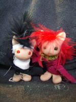 Kurama and Hiei by RuthLampi