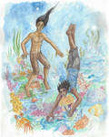 The Divers by RuthLampi