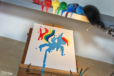 Flowing Rainbow by StudioTamago