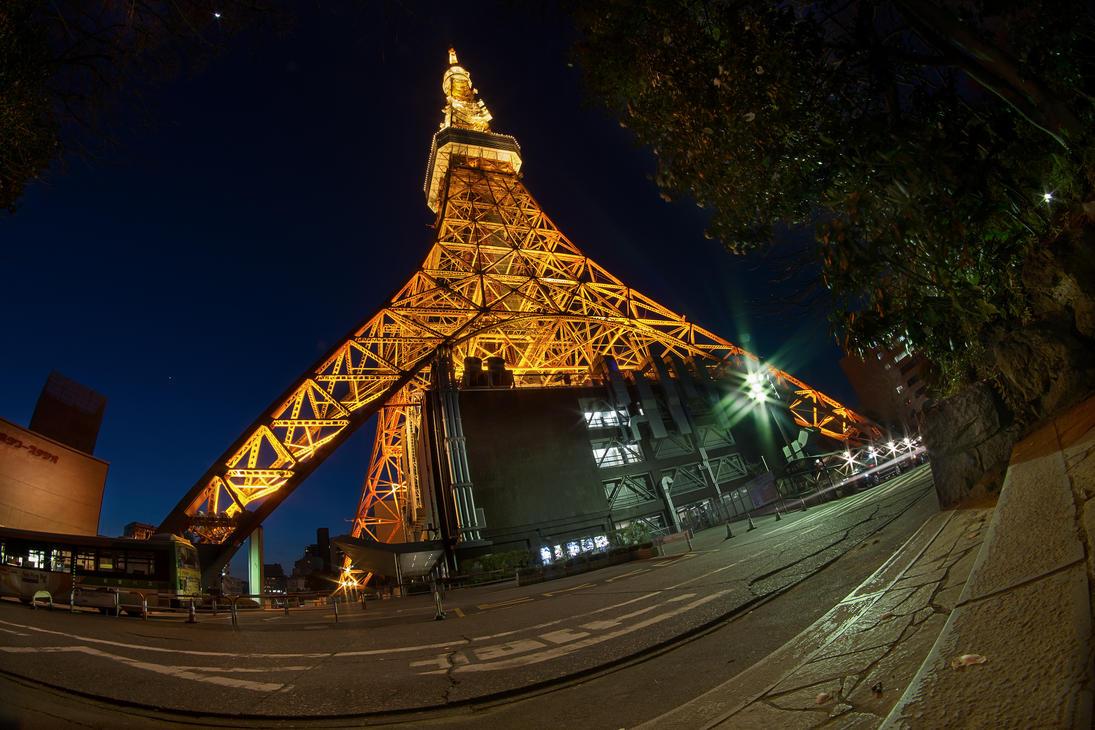 Tokyo Tower by StudioTamago