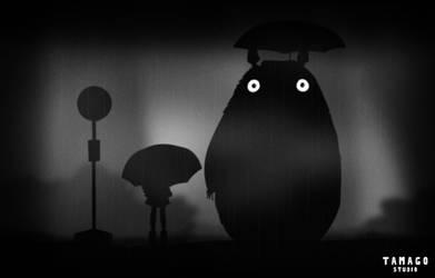 My neighbor the darkness by StudioTamago