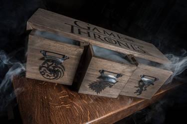 Game of Thrones Tea box by StudioTamago