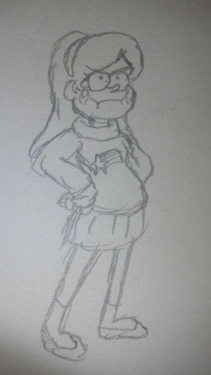 Mabel Pines by cartoon56