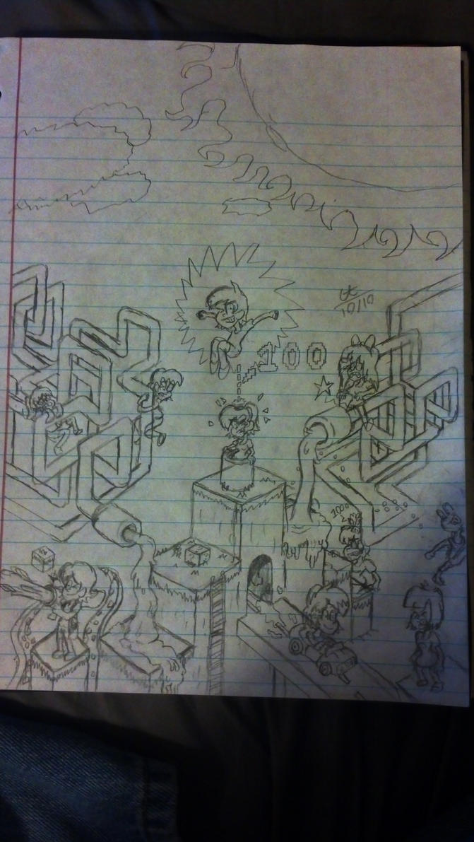 Cory Tales Season 1 Cover by cartoon56