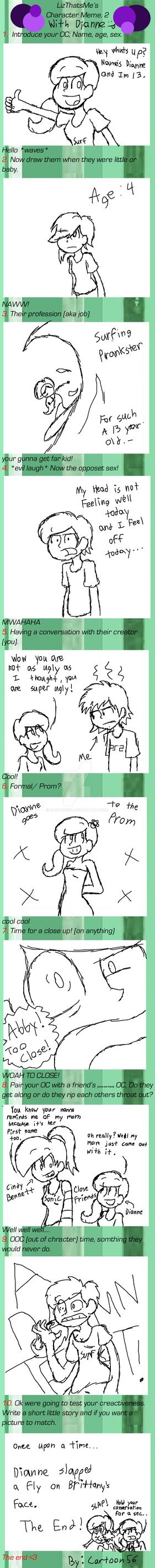 Dianne meme by cartoon56