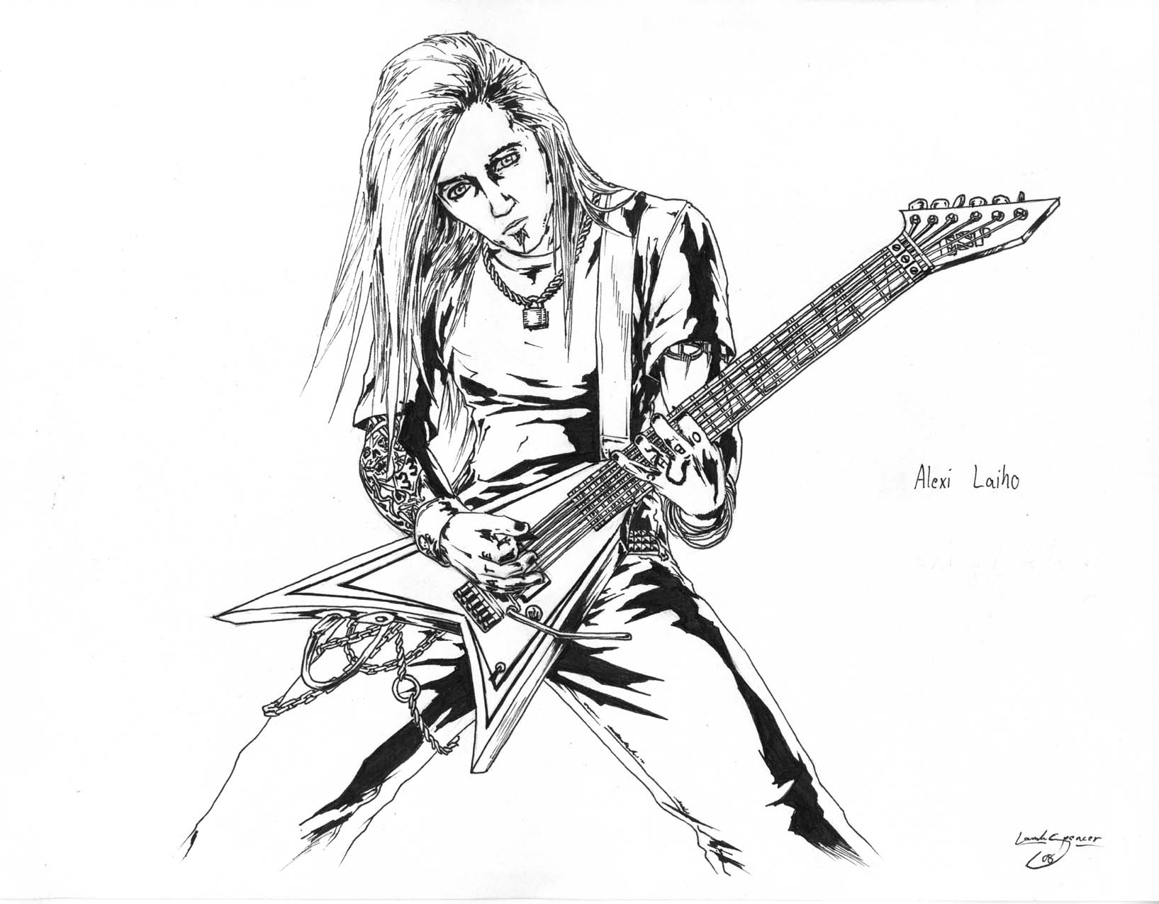 A. Laiho- Detail By AngryLandon On DeviantArt