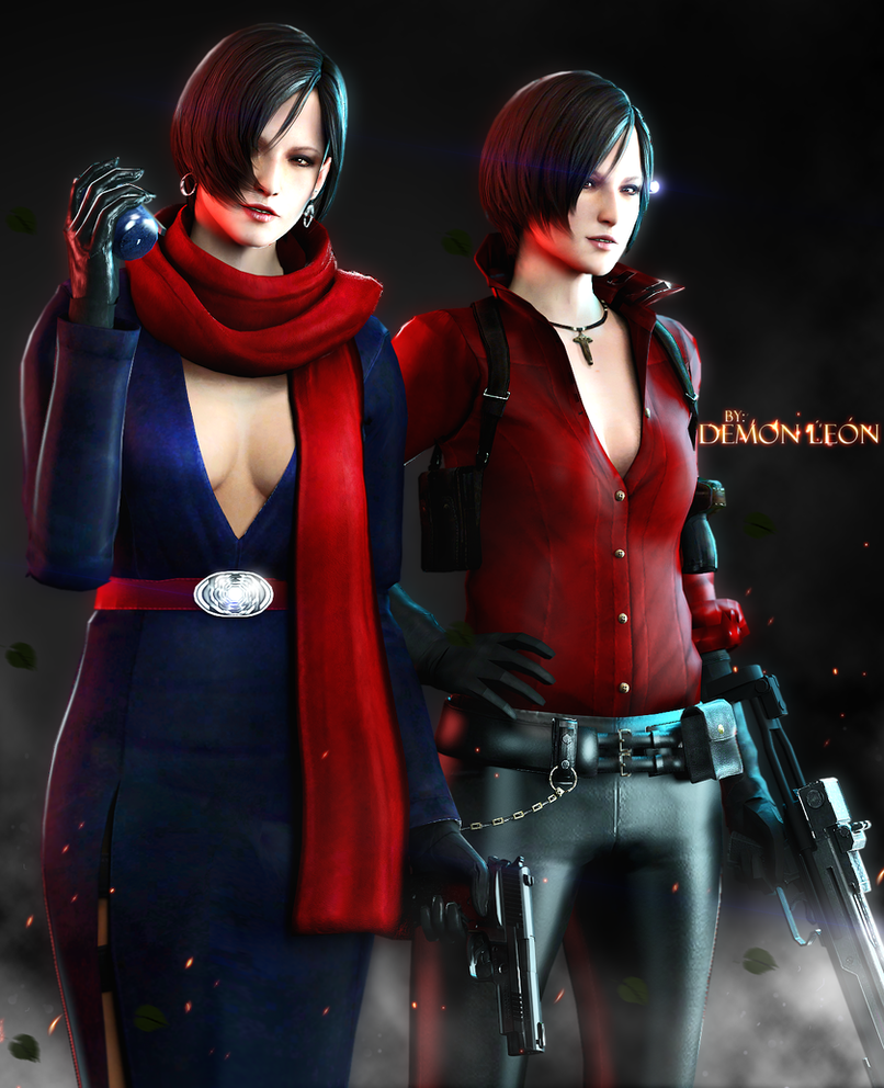 #Carla x Ada by DemonLeon3D