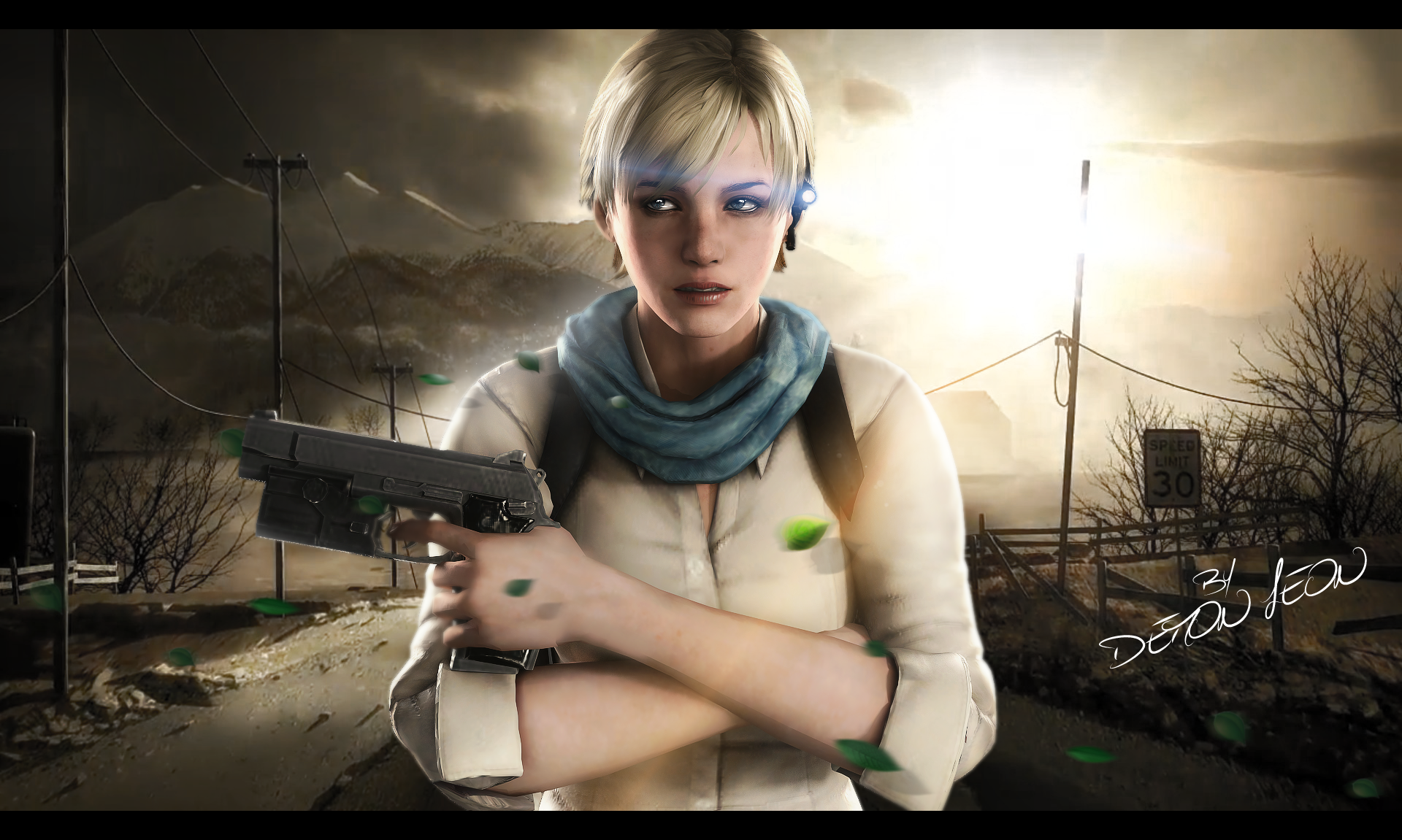 #Sherry Birkin by DemonLeon3D