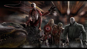 Biohazard 2 - Enemys by DemonLeon3D