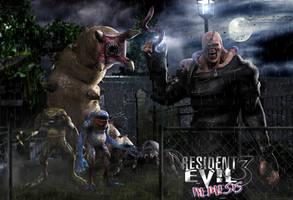 Biohazard 3 - Enemys by DemonLeon3D