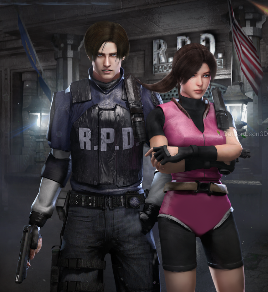 Resident Evil Hd Wallpaper: RE2 HD REMAKE By DemonLeon3D On DeviantArt