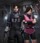 Leon x Claire - RE2 HD REMAKE by DemonLeon3D