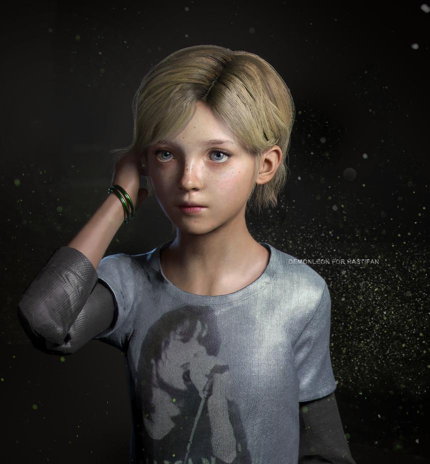 Sarah - TLOU by DemonLeon3D on DeviantArt