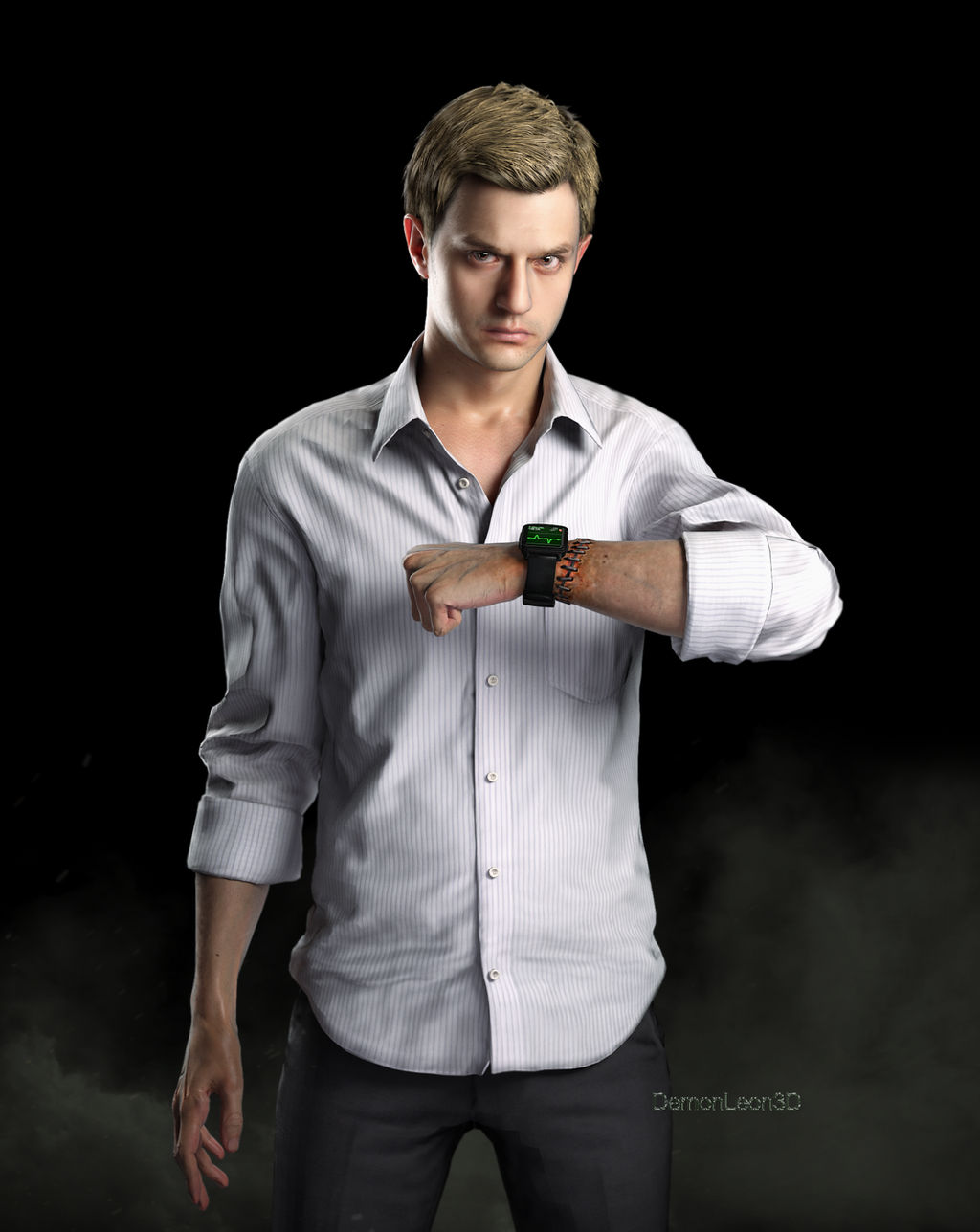 Ethan Winters by DemonLeon3D on DeviantArt