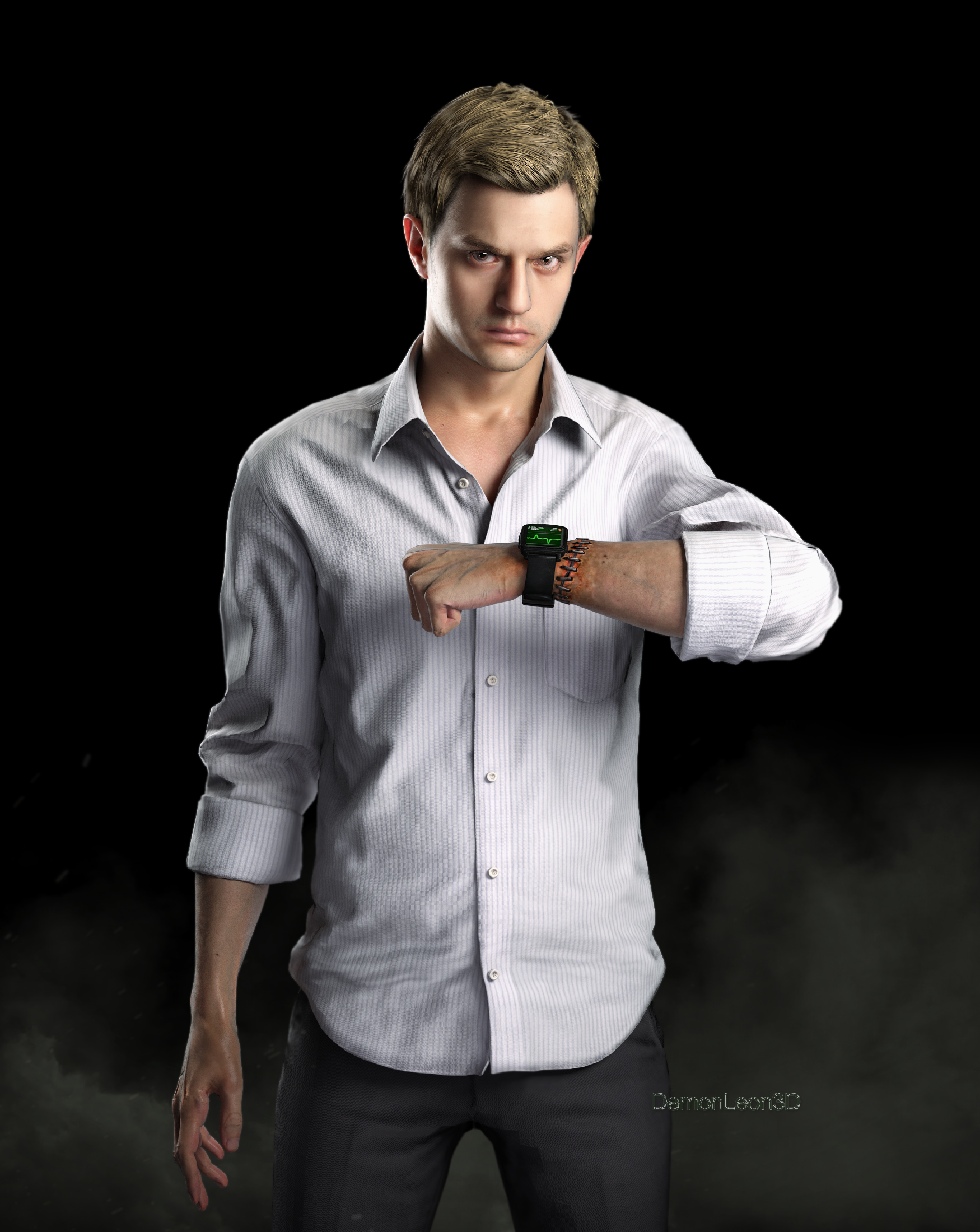 Ethan Winters by DemonLeon3D