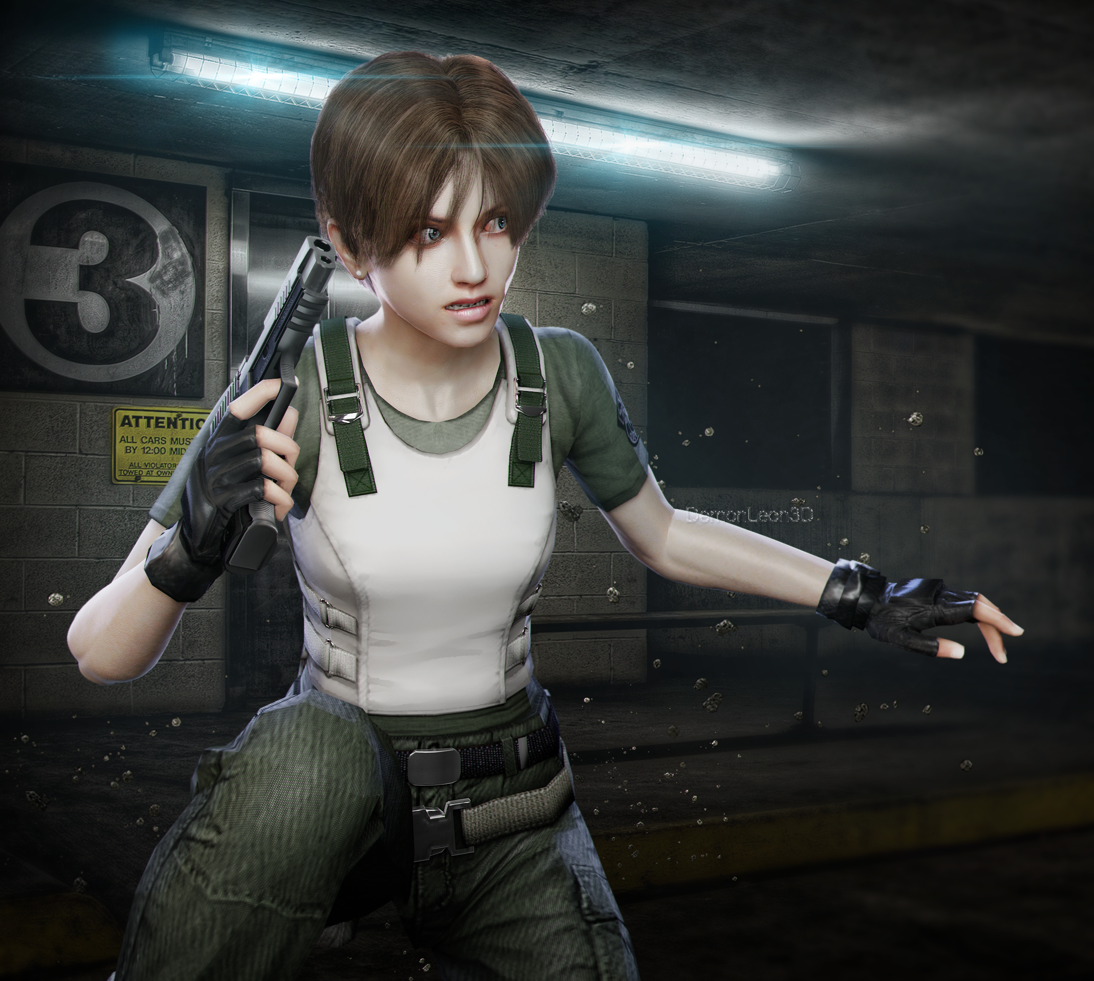 By Chambers: Rebecca Chambers By DemonLeon3D On DeviantArt