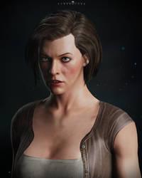 Milla Jovovich - Alice by DemonLeon3D