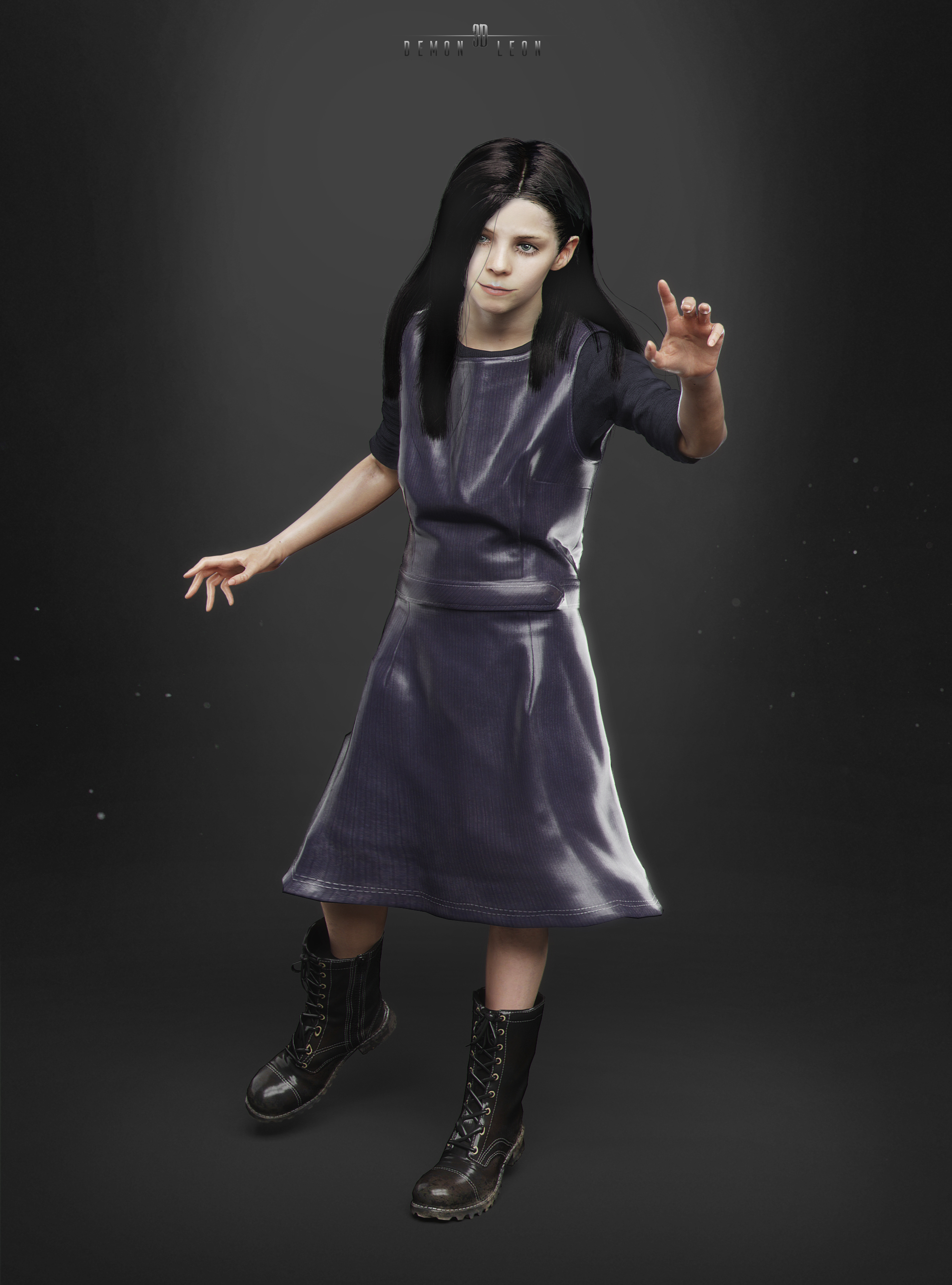 Resident Evil 7 Eveline By Demonleon3d On Deviantart