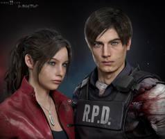 Claire x Leon