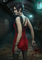 RE2 REMAKE ADA WONG Render by DemonLeon3D