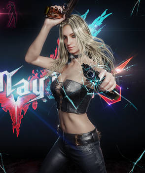 Trish DMC V by DemonLeon3D
