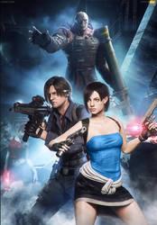 Resident Evil NEMESIS - Jill x Leon