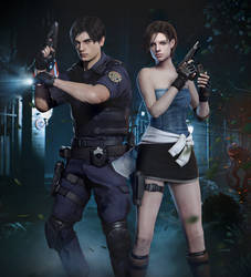 Resident Evil Leon x Jill