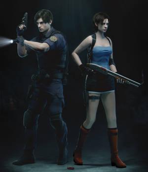 Leon x Jill