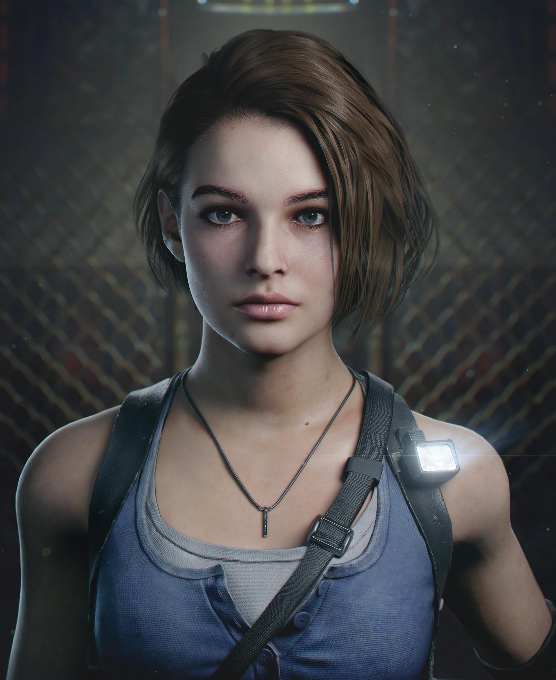 Resident Evil 3 Remake Jill By Demonleon3d On Deviantart