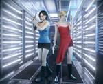 RE movie Jill x Alice