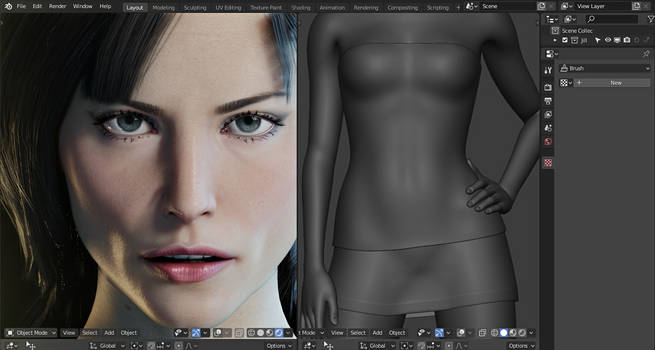 Sienna Guillory WIP