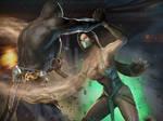 Commission Geras Vs Jade by DemonLeon3D