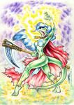 Lizard Sorceress
