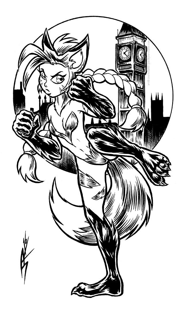 Cammy Fox by joeartguy