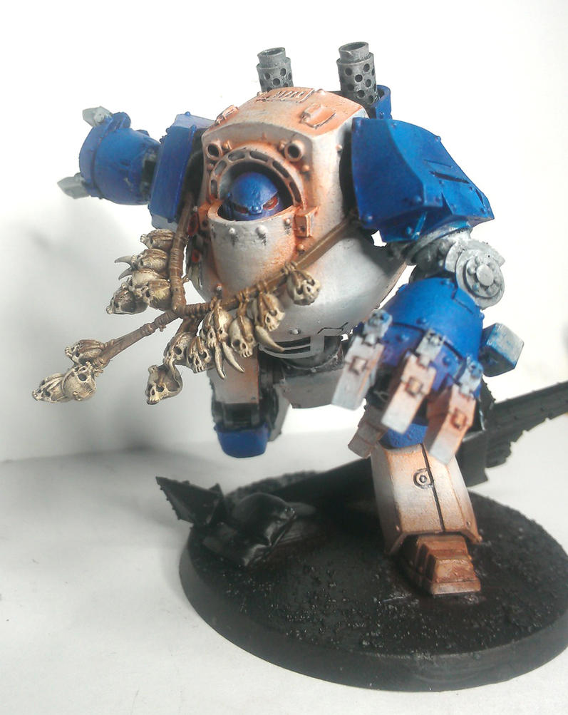 pre heresy world eaters contemptor dreadnaught by thedemonjuice