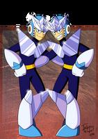Megaman - Geminiman by Tulpen-Teufel