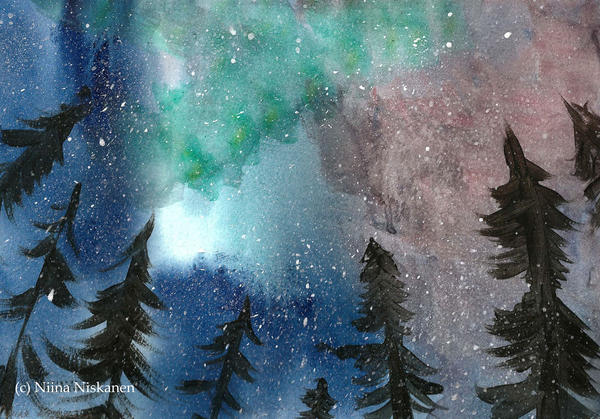 Northern Lights by fairychamber