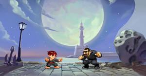 chibi - Crete Fighter pixelart by neofotistou