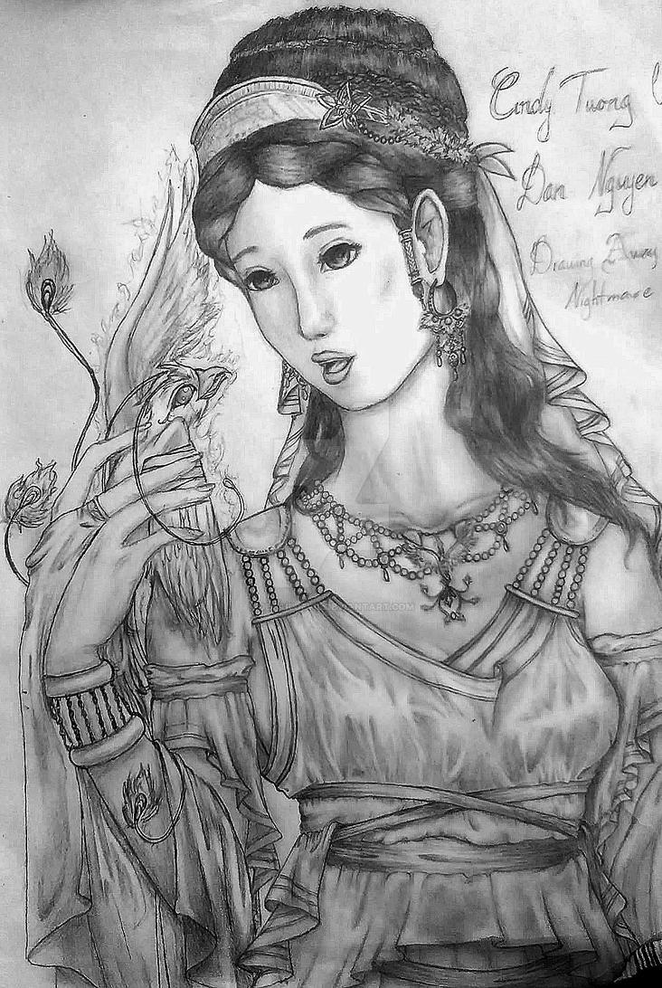 Dea Renatus Cordis - Roman-Greek Goddess by DetailDevil