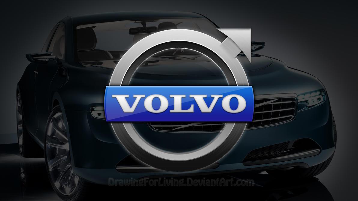 Volvo Logo Wallpaper By Drawingforliving On Deviantart