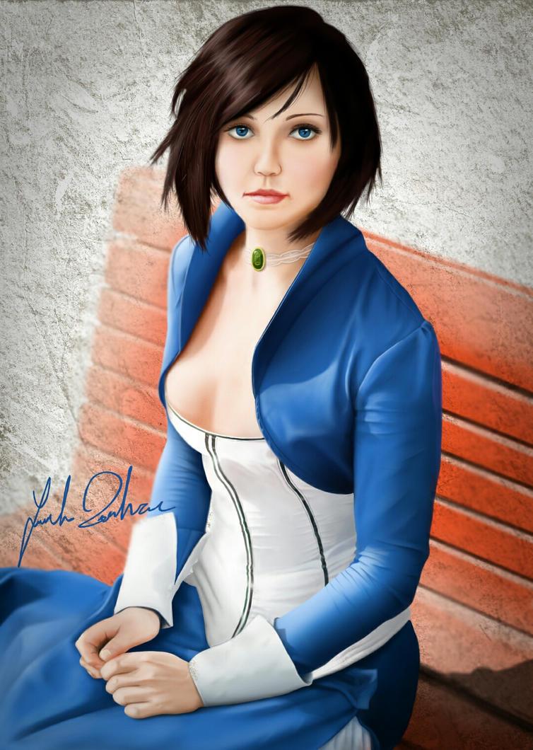 Elizabeth by DrawingForLiving