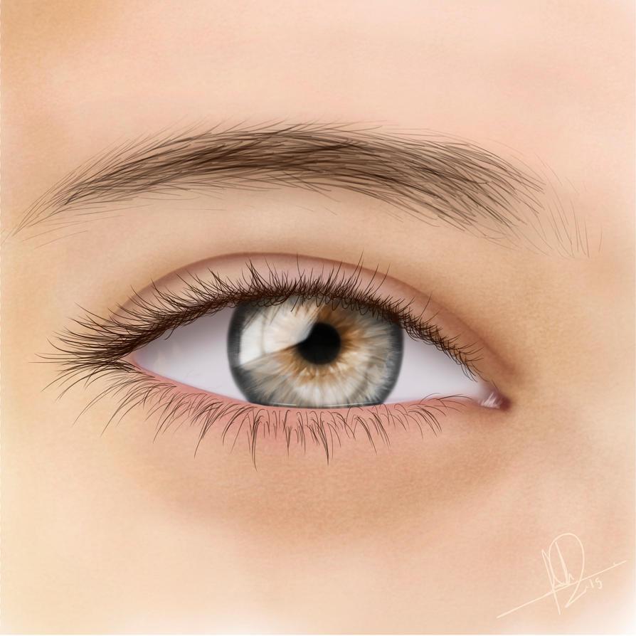 Eye Study by DrawingForLiving