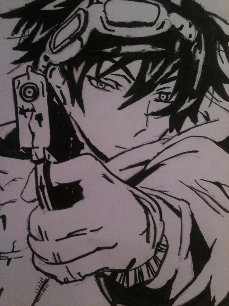 Andrew's application just for the fun of it. Anime_guy_with_a_gun_by_dawnangle-d651z8m