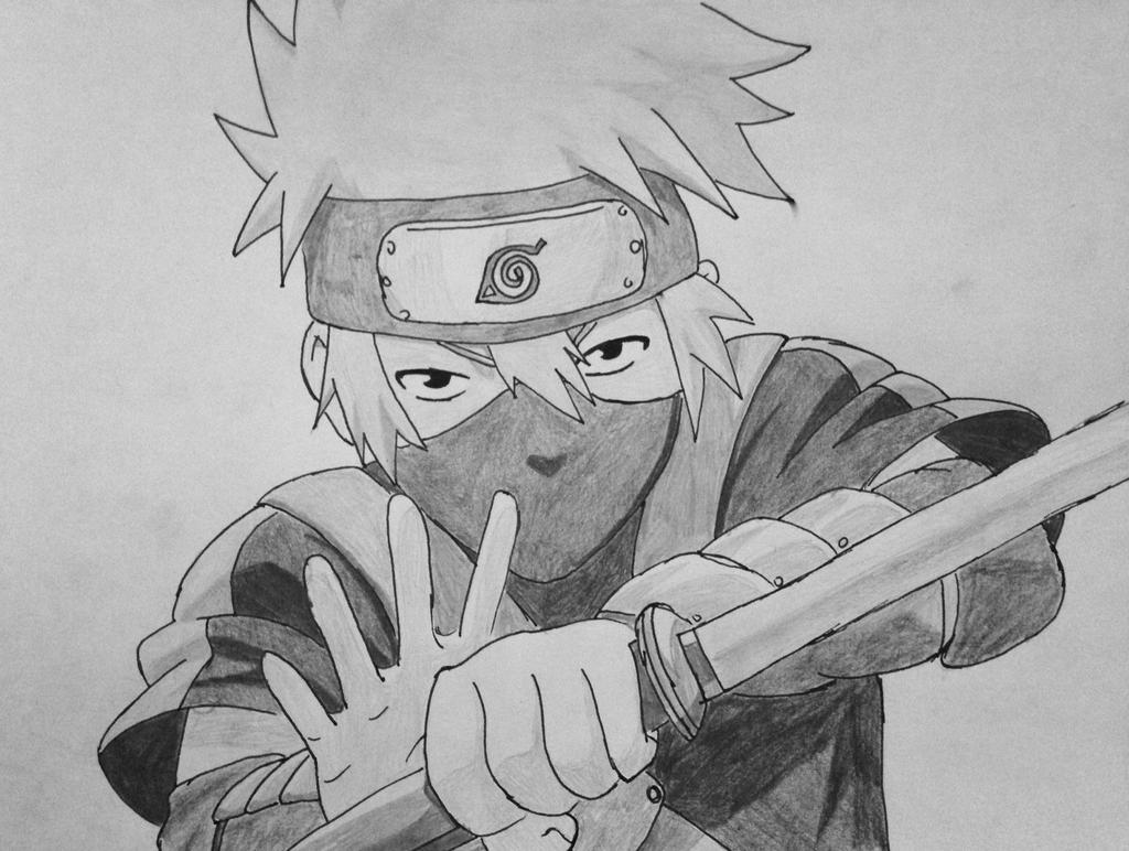 kid kakashi by dawnangle