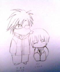 Tezuka and Fuji by selecewingard
