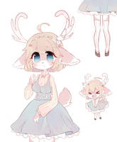 [OPEN] Shy Deer Adoptable by Koitshi