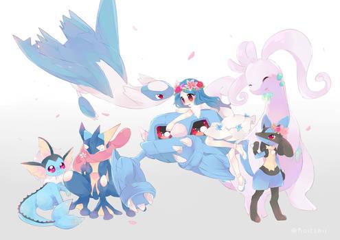 [C] Pokemon Team 15