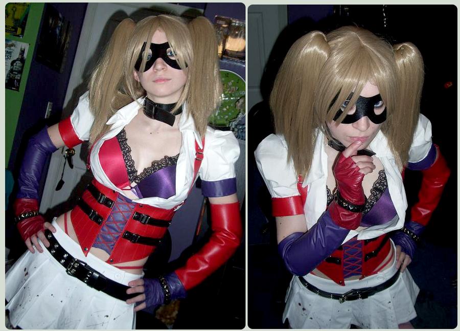 Harley Quinn WIP CosPlay by DrJekyllMrHyde