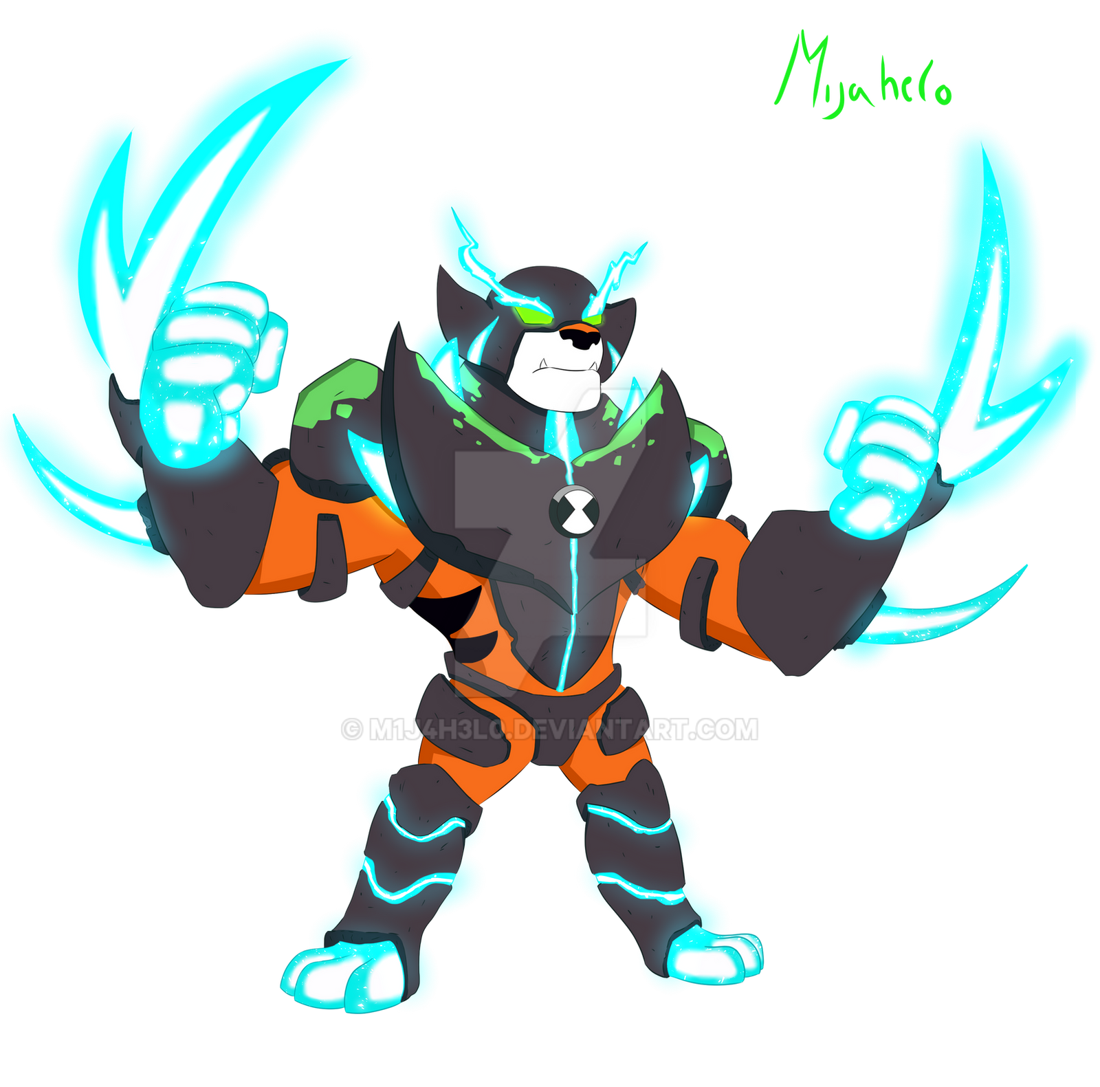 Ben 10000 Ultimate Alien: Ben 10 Rath Omni-Enhanced By M1j4h3l0 On DeviantArt