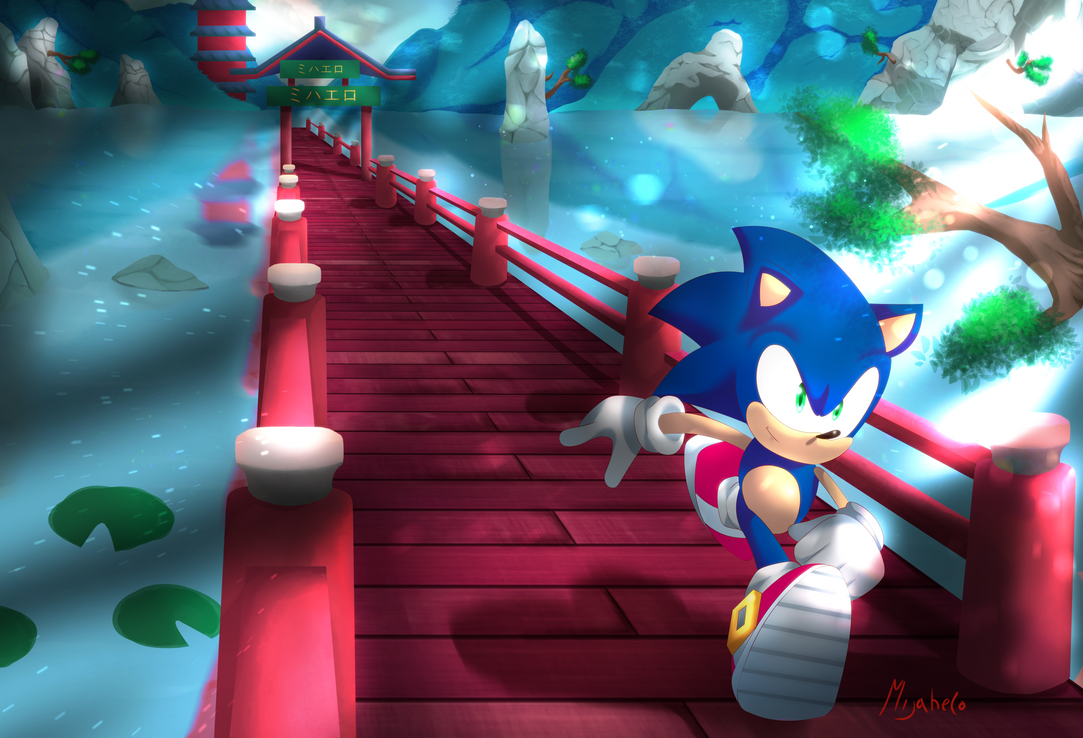 Sonic Unleashed by M1j4h3l0
